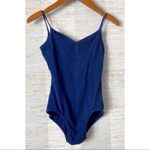 Natalie Dancewear Blue Leotard Strappy Back